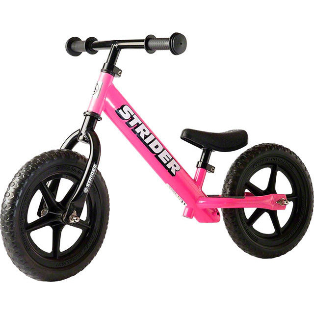Strider 12 Classic Kids Balance Bike: Pink