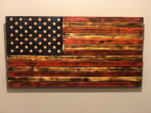 Load image into Gallery viewer, Distressed Wooden American Flag (Large)