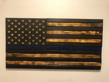 Load image into Gallery viewer, Thin Blue Line Flag