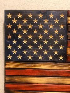Wooden American Flag (Small)