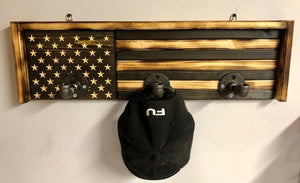 Distressed Flag Hanging Unit