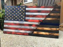 Load image into Gallery viewer, Old Glory/Thin Blue Line (Large)