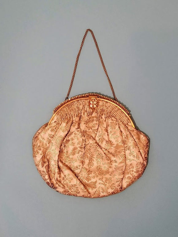 1950's Gold Handbag/Clutch