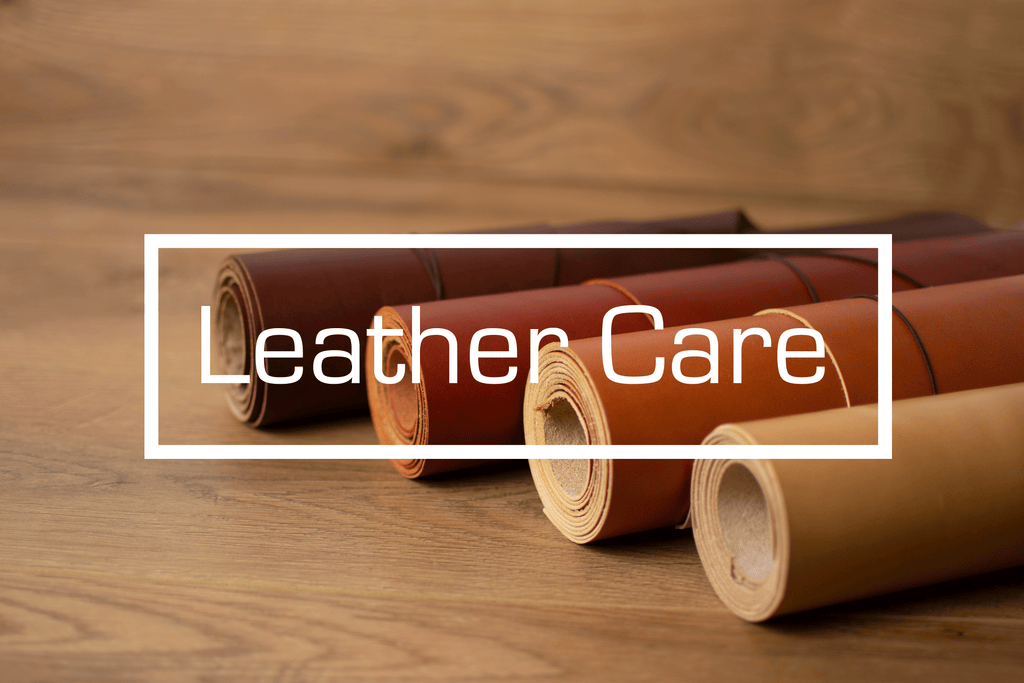 How to care for your leather goods