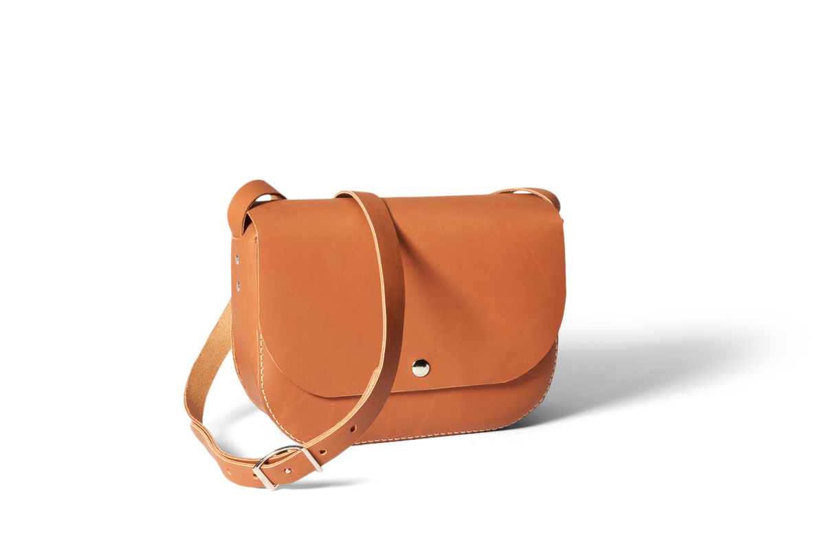 Handmade Crossbody Bag | Chestnut