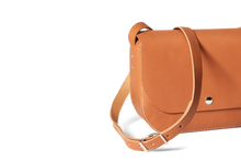 Load image into Gallery viewer, Handmade Crossbody Bag | Chestnut