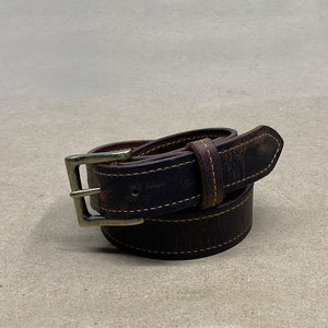 Distressed Buffalo Leather Belts