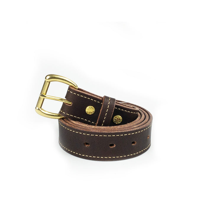 Leather Belts - Brown Buffalo