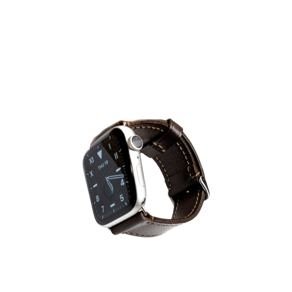 Brown-Apple-Leather-watch-straps.