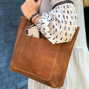 Handmade Leather Tote | Artisanal Lab