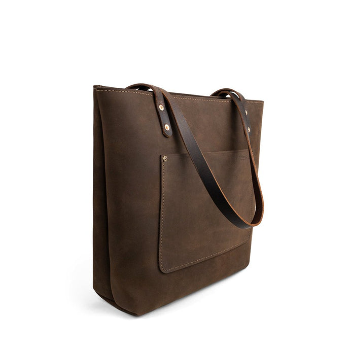 The Rocks Leather Tote | Crazy Weathered