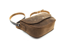 Load image into Gallery viewer, Handmade Crossbody Bag | Medium Brown