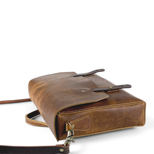 leather messenger laptop bags brown