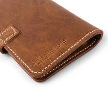 Load image into Gallery viewer, Leather Field Notes Passport Cover | English Tan-03