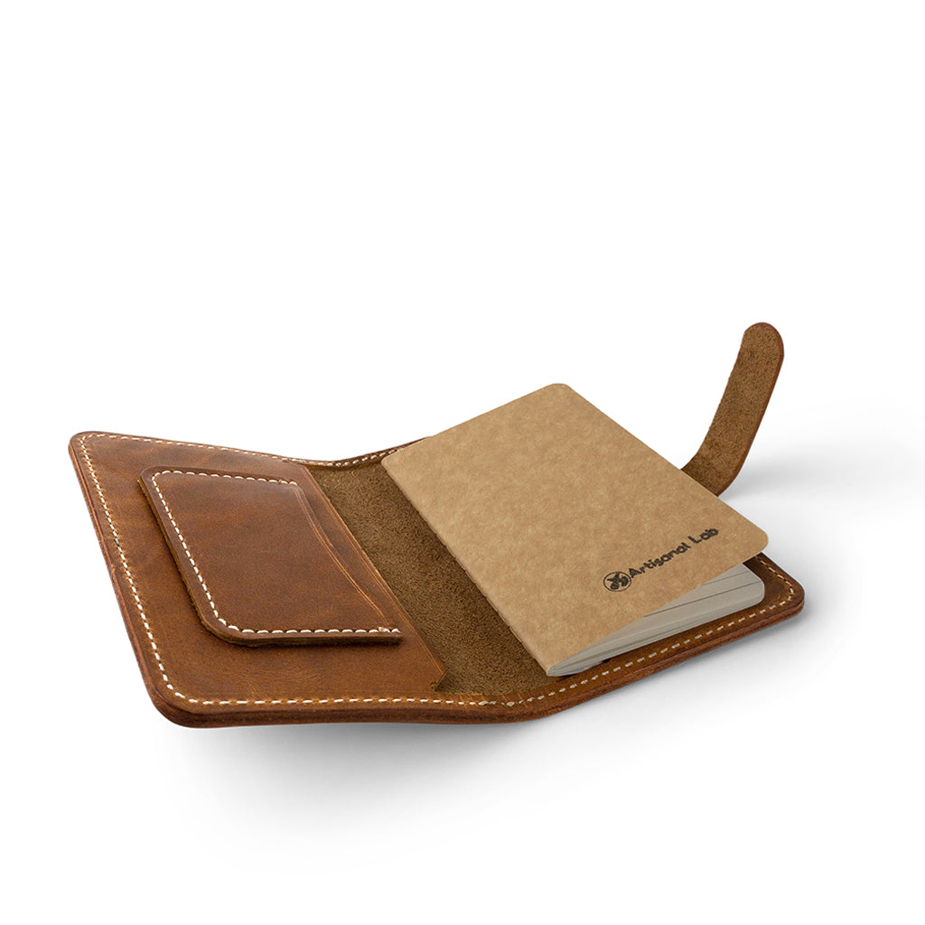 Leather Field Notes Passport Cover | English Tan-01