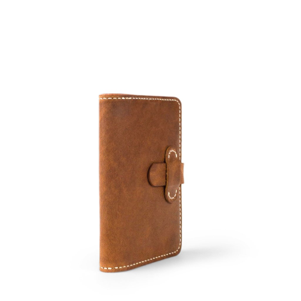 Leather Field Notes Passport Cover | English Tan-06