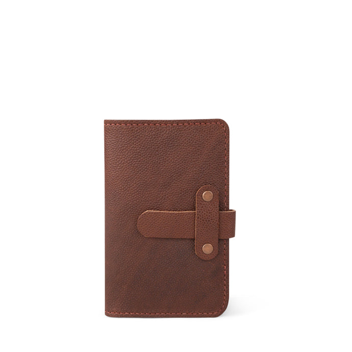 Leather Field Notes Passport Cover | FootBall Print-02