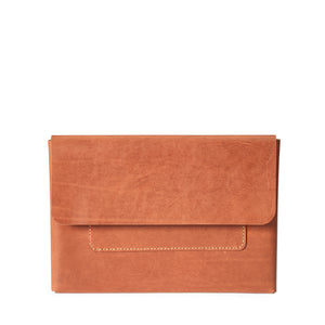 Macbook Pro 15-inch Leather Case | Saddle Tan -01