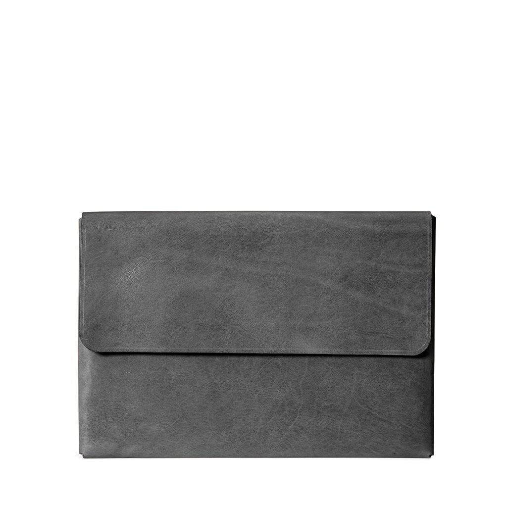 Macbook Pro 15-inch Leather Case | Slate Gray