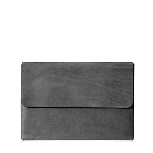 Macbook Pro 16-inch Leather Case | Slate Gray
