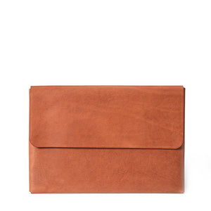 Macbook Pro 16-inch Leather Case | Saddle Tan