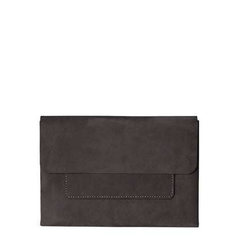 Macbook Pro 13-inch Leather Case | Black Harvest