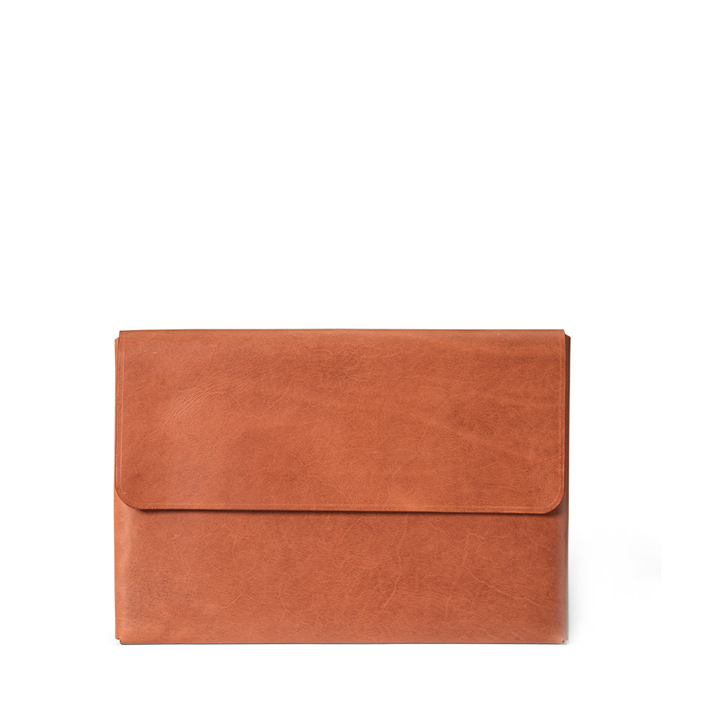 Macbook Pro 13-inch Leather Case | Saddle Tan -07