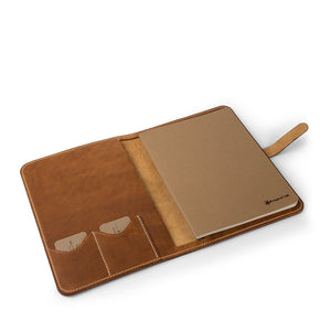 Leather iPad Pro 11-inch portfolio | English Tan