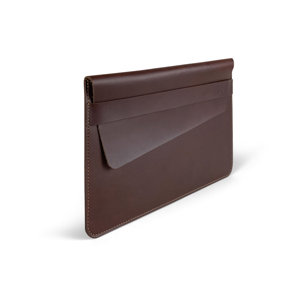 Leather iPad Pro Case Sleeves | Dark Brown