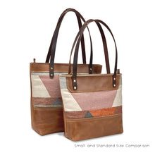 Load image into Gallery viewer, tan leather tote bags | artisanal lab