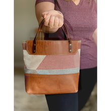 Load image into Gallery viewer, Brown Leather tote bags and purses | Tan 02
