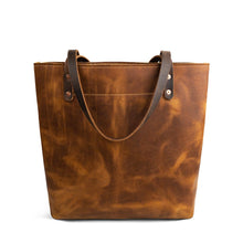 Load image into Gallery viewer, Market-Leather-tote-bags-02 | English Tan