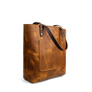 Market-Leather-tote-bags-01 | English Tan