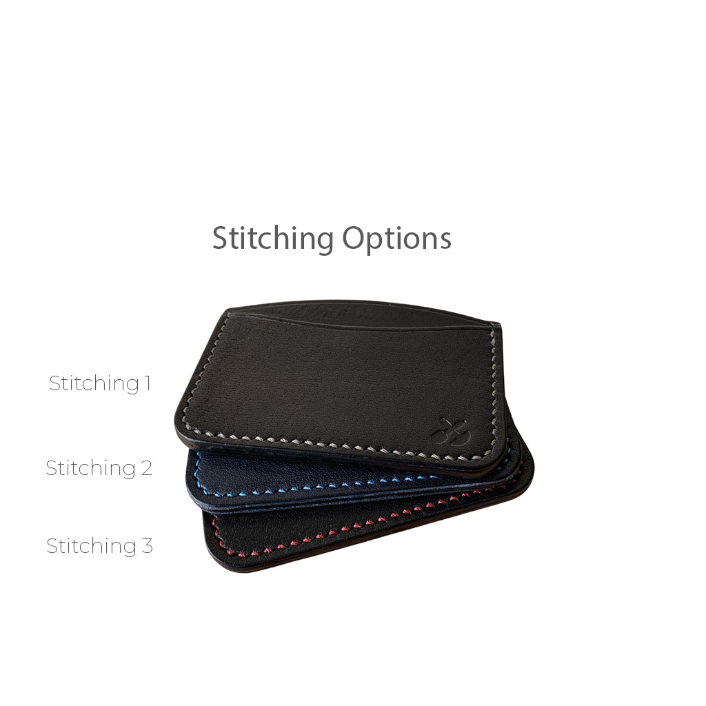 Slim Card Holder leather wallets | Black
