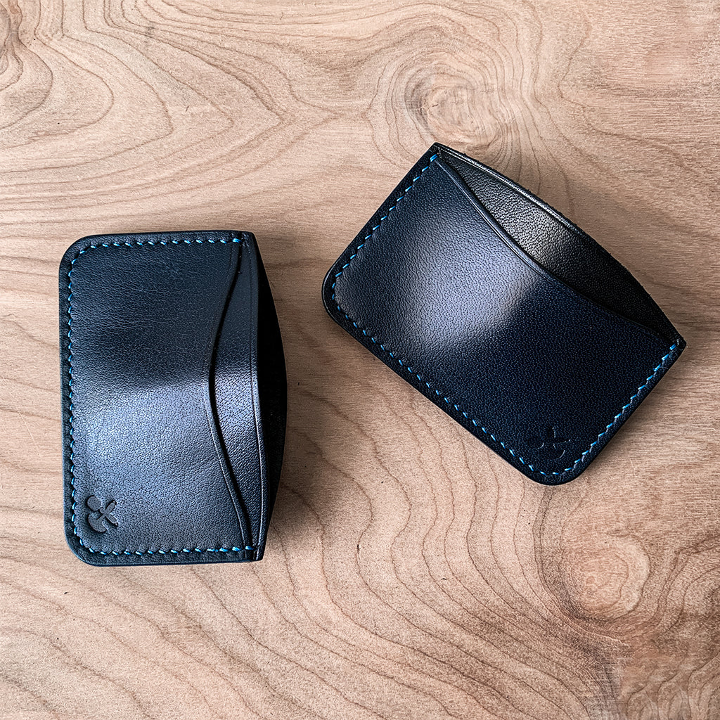 leather card wallet holder