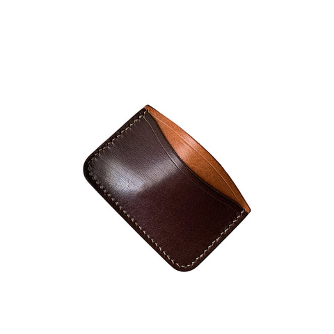 Dark Brown slim minimalist wallets