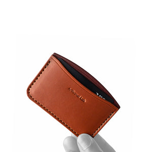 minimalist front pocket wallet | tan