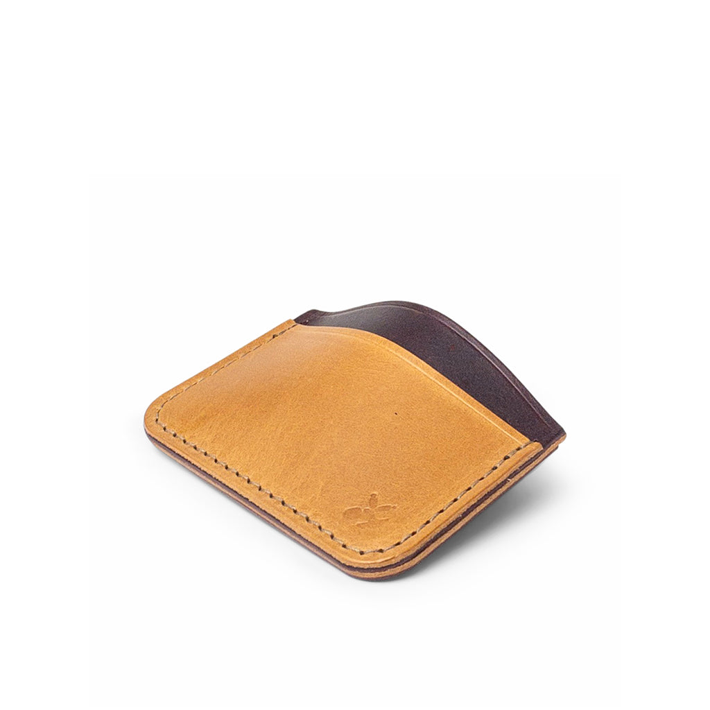 Leather card holder | Vegetable tan