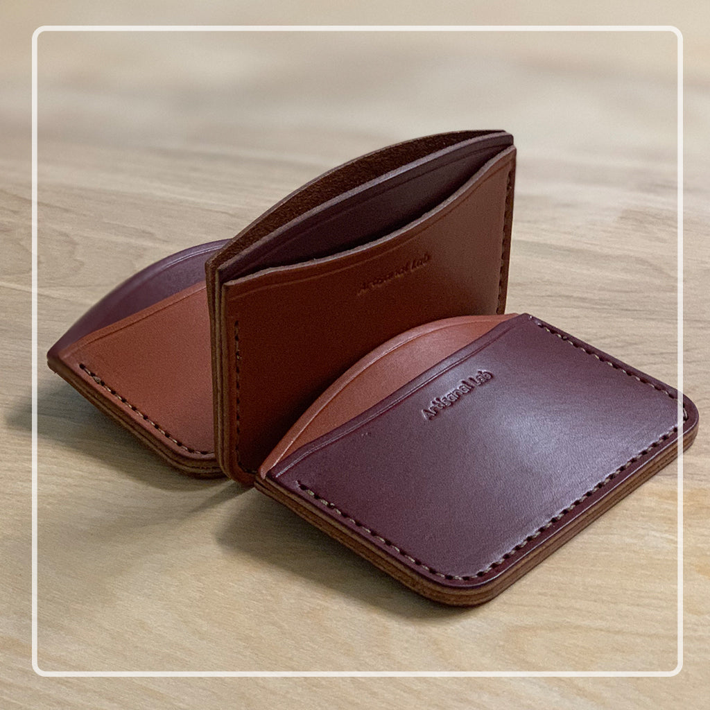Leather micro wallet set  Collection