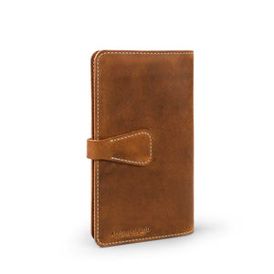 Handmade Moleskine notebook cover-04 | English Tan