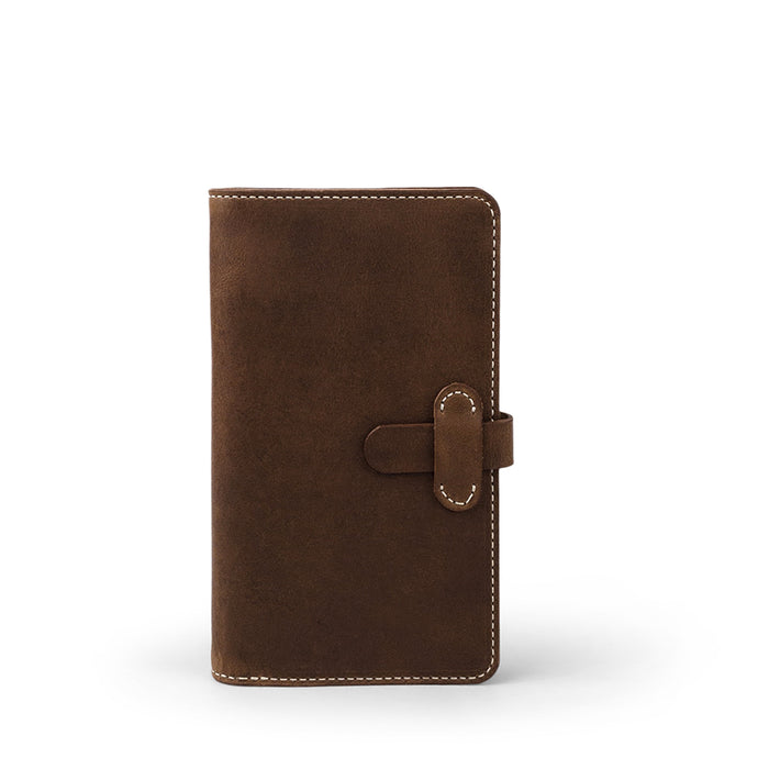 Handmade Leather Moleskine cover | Dark Brown