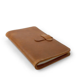 Handmade Moleskine notebook cover-03 | English Tan