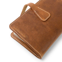 Load image into Gallery viewer, Leather Handmade  Moleskine cover-03 | English Tan