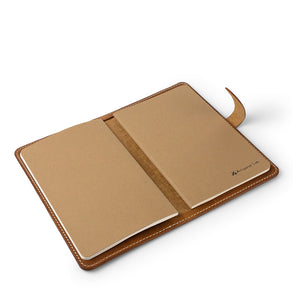 Handmade  Moleskine notebook cover | English Tan