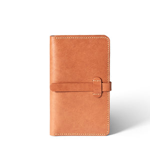 Leather Handmade  Moleskine cover | Saddle Tan