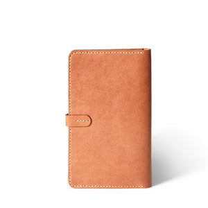 Leather Handmade  Moleskine Journal cover | Saddle Tan