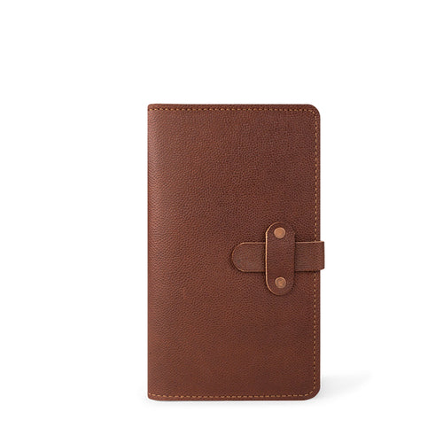 Handmade Leather Moleskine Cover | Football Print