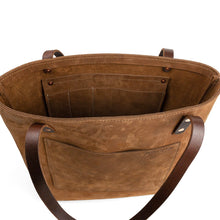 Load image into Gallery viewer, Handmade Leather Shoulder bag | Nubuck