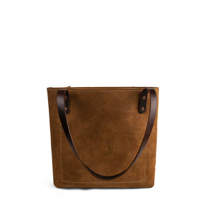 Classic Handmade Leather Market Tote | Nubuck