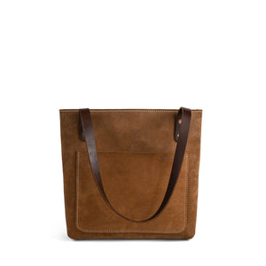 Classic Leather Market Tote | Nubuck